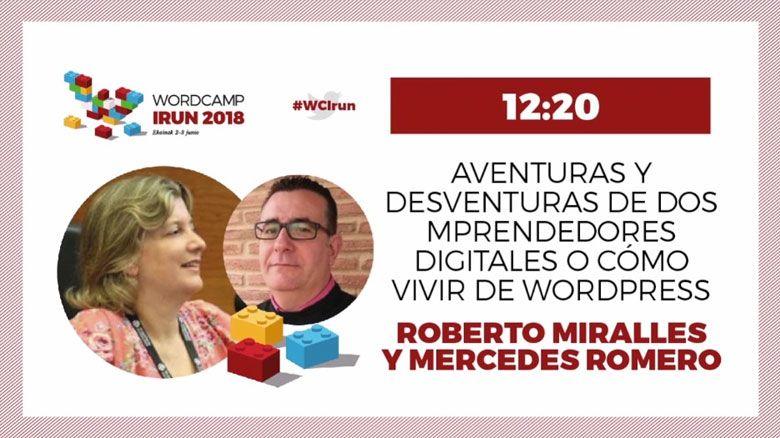 WOrdCamp Irun 2018 - Ponencia emprendiemiento