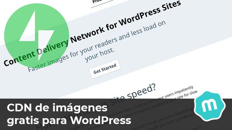 CDN de imágenes gratis WordPress