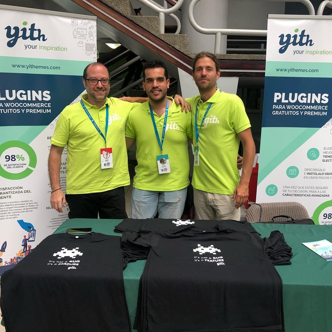 YITH, patrocinadores de WordCamps y meetups en todo el mundo.