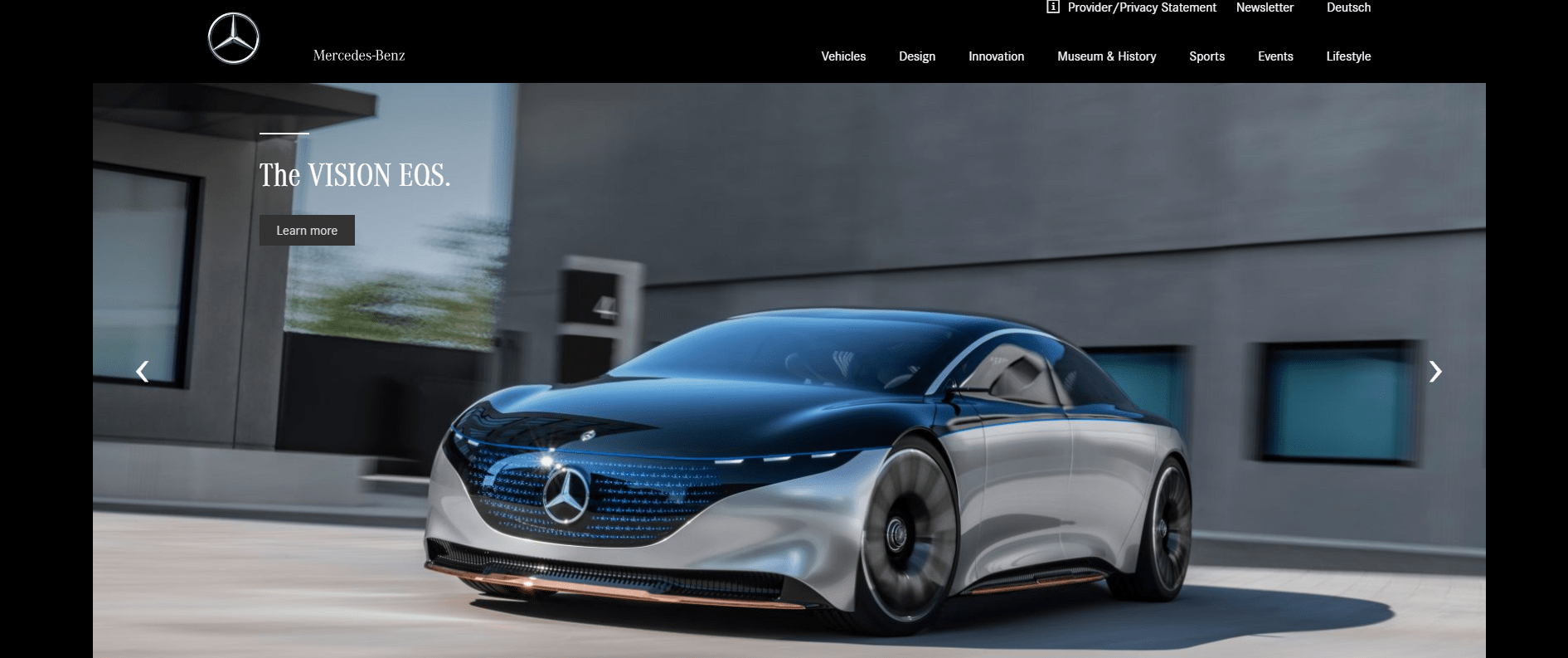 Mercedes Benz with WordPress
