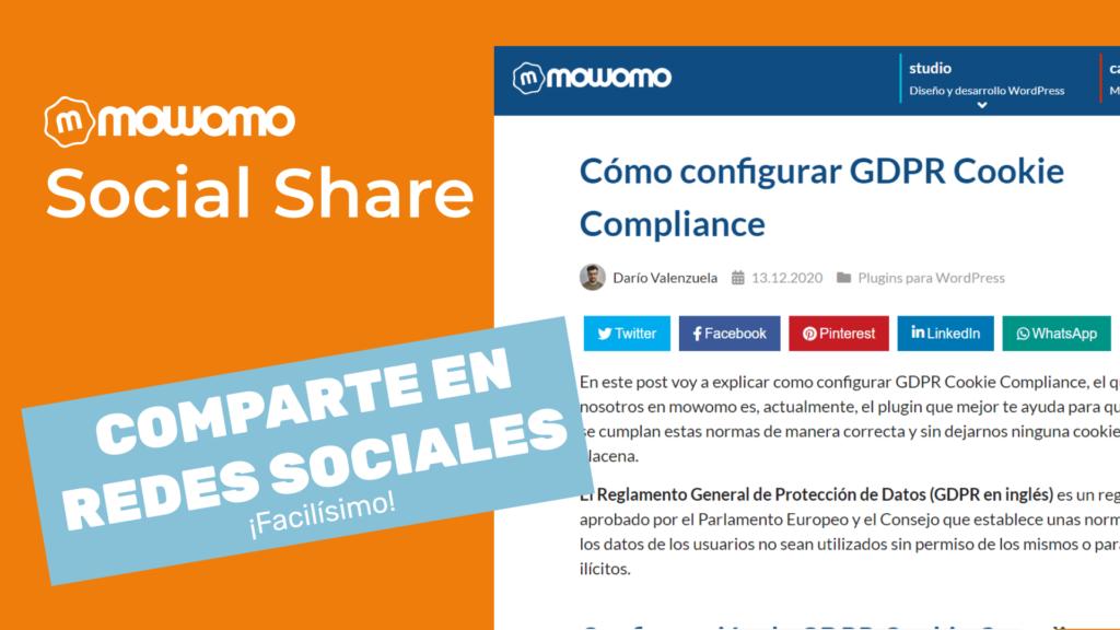mowomo social share compartir redes sociales